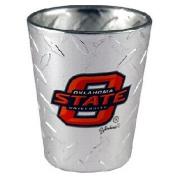 NCAA Oklahoma State Cowboys Shotglass, Diamond Plate
