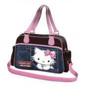 Sanrio Charmmy Kitty sports bag in Jeans Look 73072-CK