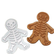 The Easiest Skull Cookies Ever Cutter /Stampers & SWEET SPIRITS Day of the Dead Cookie Cutter & Gingerdead Men Cookie Cutter by Palker sky