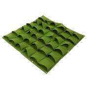 36 Pockets Planting Bags Wall Hanging Gardening Planter Outdoor Indoor Vertical Greening Grow Bags