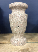 Seashell Pink Monument Flower Vase 12x5.5-A