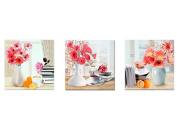 Videos 5d 5d cube diamond diamond diamond embroidery painting the living room triptych new elegant life,120*40cm