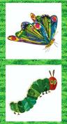 VERY HUNGRY CATERPILLAR Quilting Kids Fabric Panel by Makower -MAK138 - 100% Cotton