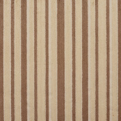 Beige and Light Brown Small Scale Velvet Stripe Upholstery Fabric by the yard