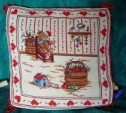 New Royal Collection Handmade Wool Needlepoint Cushion Cover/ Pillow Sham NP023