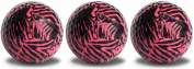 Zebra Head Golf Balls Novelty Pink 3 Pack with Full Wrap, Imprint