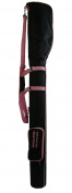 K-Cliffs Driving Range Training Golf Bag Mini Course Practise Golf Bag Travel Case, Black/Pink