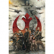 STAR WARS REBEL ALLIANCE 3D Lenticular Card / 3D Postcard