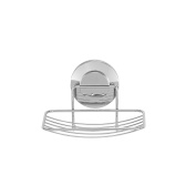 Everloc 79001 Push N' LOC Suction Cup Soap Holder, Chrome