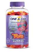 One A Day Kids Trolls Gummies, 180 Count