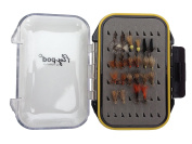 Turrall Fly-Pod Fishing Fly Selection - 22 Caddis Dry Flies