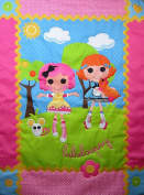 Lalaloopsy Sew Magical Sew Cute 100% Microfiber (COMFORTER ONLY) Size TODDLER Girls Bedding Decor