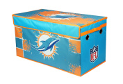 NFL Miami Dolphins Collapsible Storage Trunk