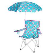 3C4G Beach Ball Design Umbrella & Chair Set