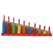 Wooden Toys Child Abacus Counting Beads Maths Learning Educational Toy Math Toys