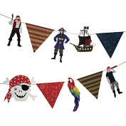 Meri Meri Party Garlands, Ahoy There Pirate