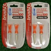 Brush T Spring Tee 7cm 2 Two-Packs - 11928