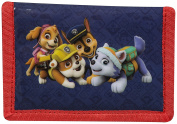 OFFICIAL PAW PATROL NICKELODEON BOYS TRIFOLD MONEY CHANGE NOTES WALLET GIFT NEW