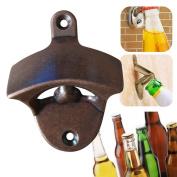 Doinshop Wall Mount Wine Beer Soda Glass Cap Bottle Opener For Kitchen Bars Gift
