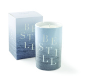 Be Still Round Hope Candle, Sea Salt Scent, 20+ Hours Burn Time