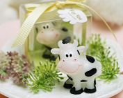 E-Meoly Creative Cartoon Dairy Cow Birthday Candles Charming Gifts Party Candles Smokeless Candles for Party Supplies and Wedding Favour Keepsake Favour