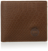 Mi-Pac Snakeskin Brown Wallet - Brown