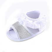Gemini_mall Baby Girl Non-Slip Sandals Toddler Princess First Walking Shoes 0 - 18 months