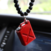 Car pendant lucky red small fuel tank creative car rearview mirror fashion ornaments