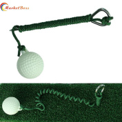 MarketBos Delicate Golf Fly Rope Driving Ball Swing Hit Shot Great Training Aid for Golf Lovers