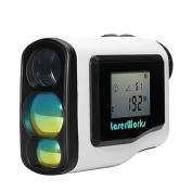 600 Metre Laser Golf Range Finder - 6x Zoom, LCD Display, Fog Mode, Scan Mode, Waterproof