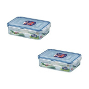 L & L LBF815 Bisfree Rectangle Container 550ml