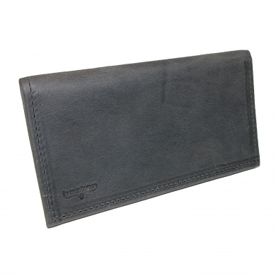 Boston Leather Distressed Leather Chequebook Cover
