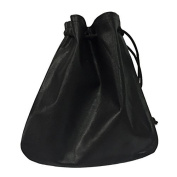 Cab/Taxi Drivers Drawstring Pouch Black Leather