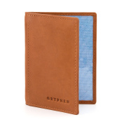The Hoxton Leather Oyster Card / Travel Pass Holder by Gryphen