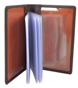 Mala Leather RFID Origin Travel Card Holder with Credit Card Insert for Oyster Rail Bus ID Pass Wallet Slip