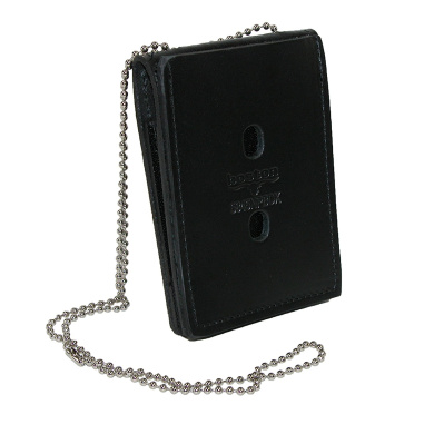 Boston Leather Leather Deluxe ID and Badge Holder Wallet