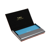 YDC05 Best Business Card Holder Leather Card Case Excellent Designer By Y & G