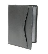 Genuine Leather Travel Pass / Oyster / Credit Card Holder Wallet