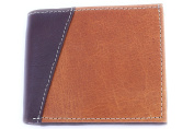 Gill Accessories' Camel Brown Genuine Leather Money Clip Bifold Pocket Wallet For Men