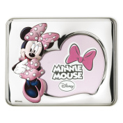 Valenti & co _ Technical Painted Photo Frame with 3d _ Silver _ Mickey Mouse _ Disney _ 13 x 18