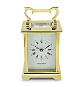 David Peterson 8 Day Anglais Carriage Clock in Solid Brass