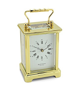 David Peterson 8 Day Obis Carriage Clock in Solid Brass