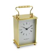 David Peterson Solid Brass Quartz Simple Carriage Clock