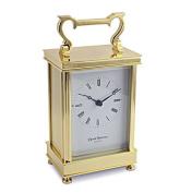 David Peterson Solid Brass Quartz Captains Clock