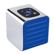 Ninetec Sound Cube Portable Bluetooth Speaker Sound Box Blue