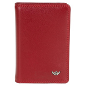 Golden Head Polo Credit Card Holder 9.5 cm Red