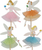 Fairy Cupcake Pick Toppers