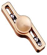 Fidget Spinner EDC Hand Spinner Spin Toy 4 steel balls Fidget Toys - Brass