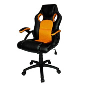 Neo® Reclining Swivel PU Leather Mesh Office Racing Gaming Style Computer Desk Chair