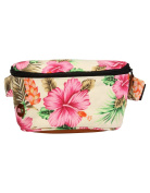 Mi-Pac Unisex-Adult Bum Purse Tropical Hibiscus